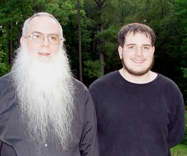 Bro. Steve and Philip Winter father and son